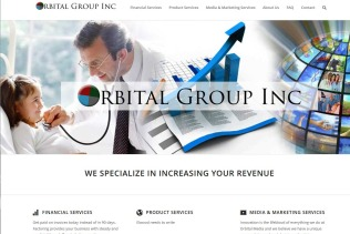 Orbital Group Finance Site
